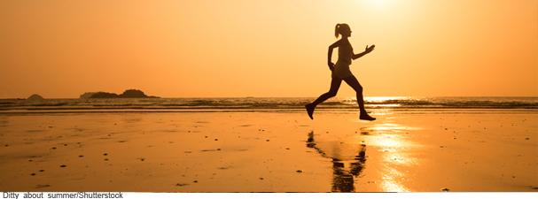 Corrida saudável no verão!