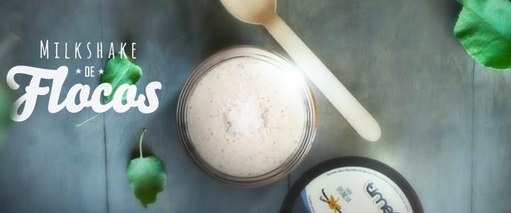 #Time4 Receitas: milkshake de flocos