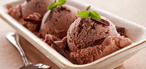 sorvete sem gorduras