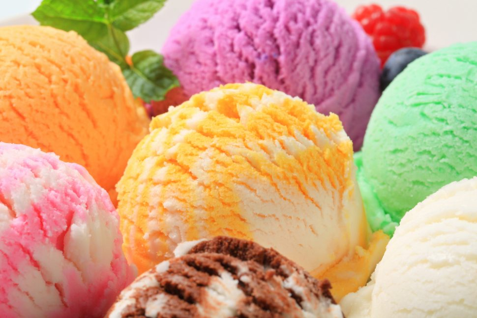 sorvete sem açúcar