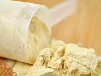 Proteína em pó para ganho de massa muscular