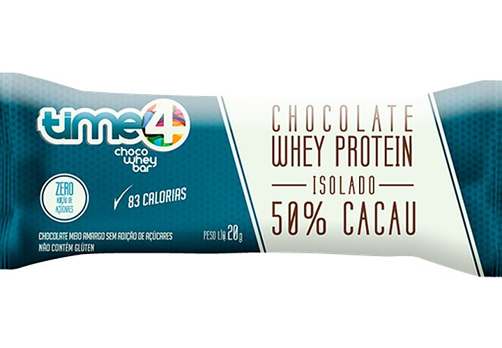 Choco Whey Bar: os antioxidantes do cacau com a proteína do soro do leite