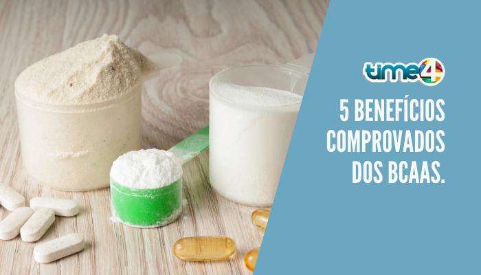 5 benefícios comprovados dos BCAAs.