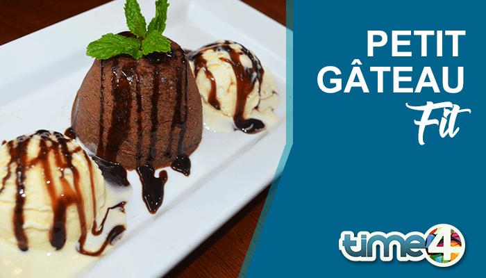 Sobremesa Low Carb: Petit Gateau FIT