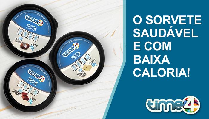 O SORVETE SAUDÁVEL E COM BAIXA CALORIA!