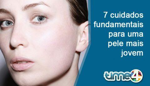 Saiba 7 cuidados que você precisa ter para uma pele mais jovem e saudável