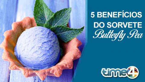 5 benefícios do sorvete whey butterfly pea